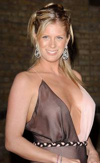 Rachel Hunter at the Live Final of the Channel Five reality TV show