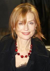 Isabelle Huppert at the 16th European Film Award.