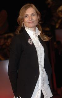 Isabelle Huppert at the 62nd Venice Film Festival premiere of