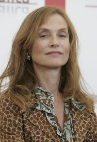 Isabelle Huppert at the 62nd Venice Film Festival for the photocall of