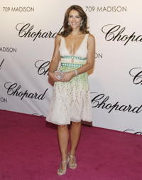 Elizabeth Hurley at the Chorpard flagship store opening.