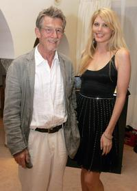 John Hurt and Meredith Ostrom at the Ibiza and Formentera International Film Festival.