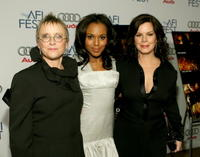 Mary Beth Hurt, Kerry Washington and Marcia Gay Harden at the world premiere of
