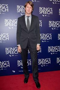 Tom Hooper at the Australian premiere of