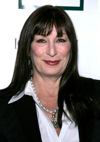 Anjelica Huston at the 21st Annual American Cinematheque Award Honoring George Clooney.