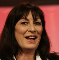 Anjelica Huston at the Showtime Networks segment of the Television Critics Association Winter Press Tour panel discussion.