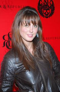 Eva Amurri at the Rock and Republic Fall 2007 fashion show during the Mercedes-Benz Fashion Week.