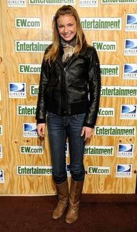 Emily VanCamp at the Entertainment Weekly's Sundance Party.