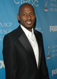 Romany Malco at the 38th NAACP Image Awards nominees luncheon.