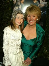 Sophie Vavasseur and Evelyn Doyle at the premiere of