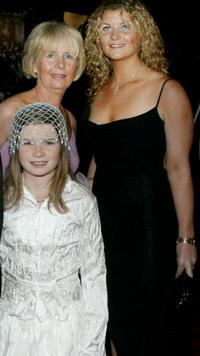 Sophie Vavasseur and Family at the premiere of