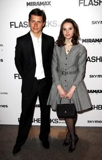 Harry Eden and Felicity Jones at the UK premiere of