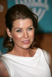 Ellen Pompeo at the In Style Magazine and Warner Bros. Studios Golden Globe after party.
