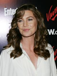 Ellen Pompeo at the Entertainment Weekly and Vavoom's Network Upfront party.