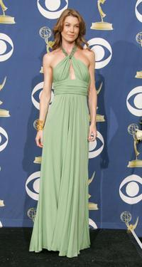 Ellen Pompeo at the 57th Annual Emmy Awards.