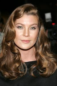 Ellen Pompeo at the Dior 2008 Cruise Collection fashion show.