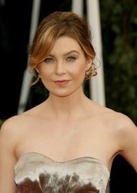 Ellen Pompeo at the 14th annual Screen Actors Guild awards.