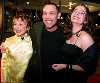 Ashley, Doug Hutchison and wife Kathleen Davison at the premiere of
