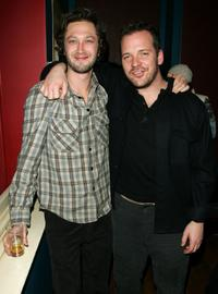 Ebon Moss-Bachrach and Peter Sarsgaard at the
