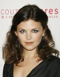 Ginnifer Goodwin at the Carolina Herrera Boutique opening.