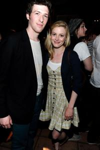 Daryl Wein and Gillian Jacobs at the after party of the California premiere of