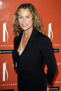 Lauren Hutton at the Scottsdale National Launch Party with India.Arie.