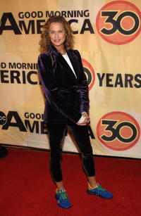 Lauren Hutton at the ABC's Good Morning America's 30th Anniversary Gala.