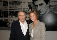 Lauren Hutton at the private opening of Dennis Hopper's