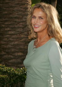 Lauren Hutton at the 2007 Vanity Fair Oscar Party.