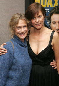 Lauren Hutton and Carey Lowell at the premiere of