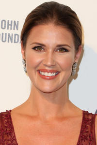 Sarah Lancaster at the 24th Annual Elton John AIDS Foundation Oscar viewing party in West Hollywood, California.