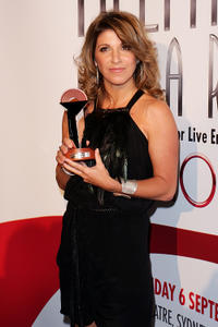 Kelley Abbey at the 2010 Helpmann Awards in Sydney.