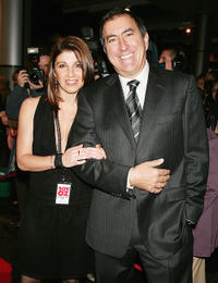 Kelley Abbey and director Kenny Ortega at the Opening Night of