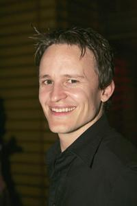 Damon Herriman at the cocktail party of