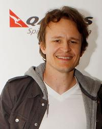 Damon Herriman at the screening of