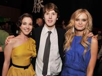 Martha MacIsaac, Spencer Treat Clark and Sara Paxton at the after party of the premiere of