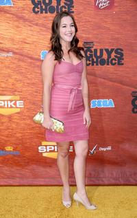 Martha MacIsaac at the Spike TV's 2nd Annual Guys Choice Awards.