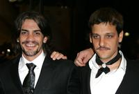 Pablo Echarri and Rodrigo De la Serna at the premiere of