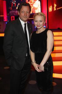 Matthias Brandt and Anna Maria Muehe at the Opening Ceremony of 60th Berlin International Film Festival.