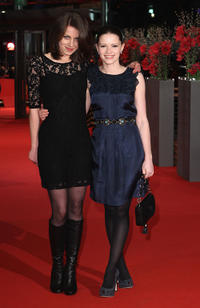 Alice Dwyer and Jennifer Ulrich at the premiere of