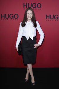 Jennifer Ulrich at the Hugo Boss Show during the Mercedes Benz Fashion Week Autumn/Winter 2011.