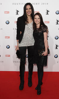 Bettina Zimmermann and Jennifer Ulrich at the Festival Night 2010 during the 60th Berlin Film Festival.