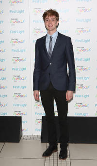 Luke Newberry at the First Light Awards in England.