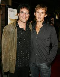 Michael Mayer and Ryan Kwanten at the premiere of