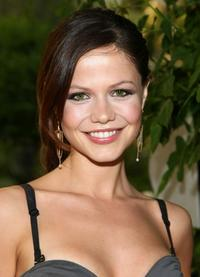 Tammin Sursok at the Academy of Television Arts & Sciences' Daytime Emmy Nominee cocktail party.