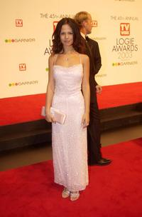 Tammin Sursok at the 45th Annual TV Week Logie Awards 2003.