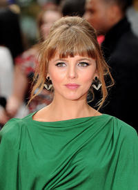 Ophelia Lovibond at the world premiere of