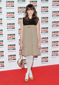 Ophelia Lovibond at the Jameson Empire Awards 2011 in London.