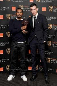 Noel Clarke and Nicholas Holt at the BAFTA Orange Rising Star Award nomination.