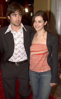 Colin Farrell and Amelia Warner at the premiere of